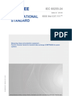 IEEE-IEC Measuring Relays and Protection Equipment Part 24 Common Format for Transient Data Exchange (COMTRADE) for Power Systems