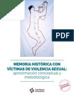Memoria Historica Con Victimas de Violencia Sexual