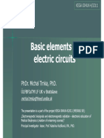 Basic elements of electrical circuit
