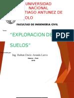 Exploracion de Suelos 2018 - 2