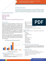 Global Market for Precipitated Silica - Trends (2016-2018) and Forecast (2019-2025)