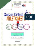Program District Meet