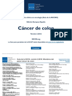 CA de Colon NCCN