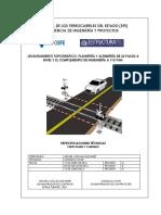 Informe Levantamiento Topográfico Cruce Ferroviario