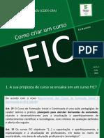 Como Criar Um Curso FIC (Ver. 1.2)