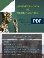 Administracion de Medicamentos 2018