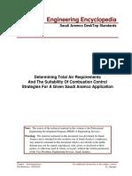 Boiler - Air Requirements Determination