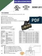 Spec Sheet for Txn-ok-español