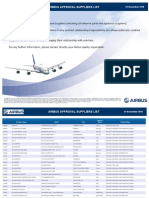 Airbus Approved Suppliers List