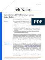 concentration of otc derivatives among major dealers