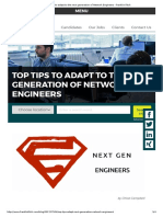 Top tips to adapt to the next generation of Network Engineers - Franklin Fitch.pdf