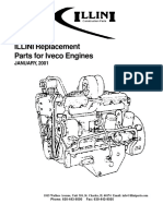 Parts book for iveco engine