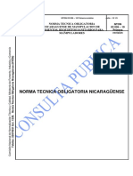 NTON03_026_10 Manipulación de Alimentos. Requisitos Sanitarios