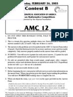 2003AMC12-B