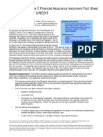 Financial Letter of Credit PDF