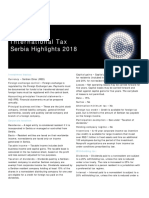 Dttl Tax Serbiahighlights 2018