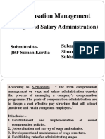 Compensation Management Simar and Shubhreet