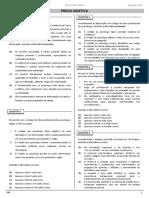 QUADRIX Cad Prova XI Concurso CFP Psicologia Clínica