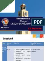 Mechatronics Merged Session I