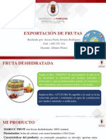 Exportacion de frutas jessica alvarez.pptx