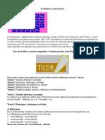Ortografia - Reglas de Tildes y Ejercicios