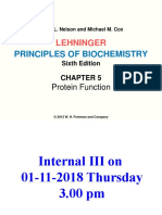 Chapter 5-Proteins Function - Students