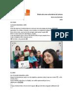 Diário Voluntaria MJM 2019