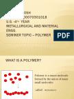 seminer on polymer