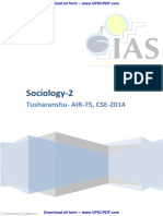 Sociology-Tusharanshu Part 2