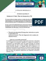 401845251 ACTIVIDAD 13 3 Evidencia 3 Taller Plan de Integracion y TIC Docx