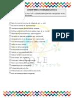 6. Lista de Verificación de Lenguaje