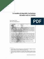 Los modelos de desarrollo y las funciones del medio rural en colombia.pdf