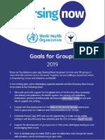 Metas Para Grupos 2019