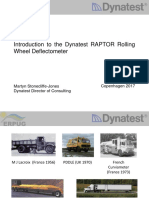 Introduction to the Dynatest RAPTOR
