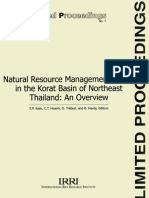 Natural Resources Management Issues in the Korat Basin of Northeast Thailand