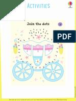 Dot to Dot Fairy Activity Pad