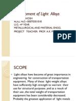 Development of Light  Alloys