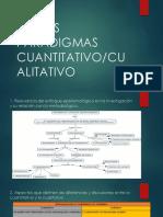 Actividad No. 5. Falsos Paradigmas (Cuantitativo - Cualitativo)
