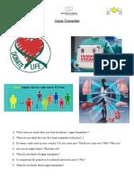 Organ Transplant Conversation Class
