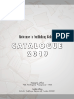 A4 Catalogue 2019