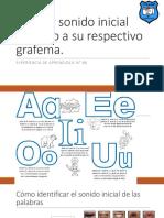 Apoyo Clase 86 Pac Lenguaje Asociar Sonido Inicial Vocálico