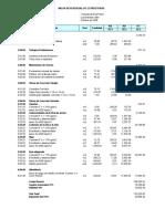 93451799 Presupuesto de Casa de Dos Pisos