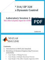 Lab Session 1- Part 2 the Effect of Pulse Input to CSTR (1)
