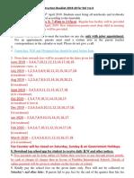 Pratibha school VII SYLABUS