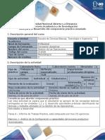 Guía de Trabajo Actividad Práctica Simulado - Tarea 4 - Informe de Trabajo Práctico