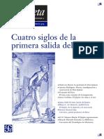 Gaceta Cuatro Siglos Del Quijote