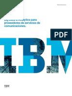 IBM Big Data Analytics Para Proveedores Servicios Comunicaciones