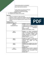 Plan de Simulación de Clase Modelo