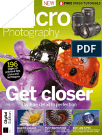 Teach Yourself Macro Photography 1st ED - 2018 UK