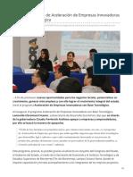 16-07-2019 Inicia el programa de Aceleración de Empresas Innovadoras con Base Tecnológica-Expreso